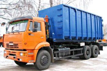 Бункеровоз КАМАЗ 27 тонн