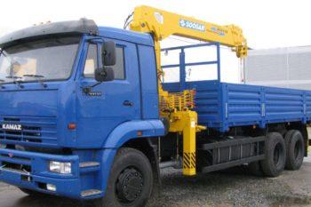 КамАЗ 65117 с КМУ